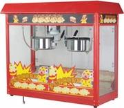 Аппарат для попкорна StarFood с двумя котлами