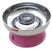 Аппарат для приготовления сахарной ваты STARFOOD d=290 мм, розовый