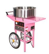 Аппарат для приготовления сахарной ваты STARFOOD с тележкой d=720 мм