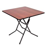 Стол складной квадратный Ривьера 70х70 Орех