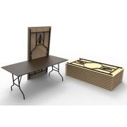 Стол складной прямоугольный Серия 2