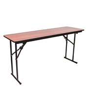 Стол складной прямоугольный учебный 150х50 Орех