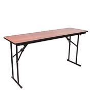 Стол складной прямоугольный учебный 180х50 Орех