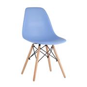 Стул Eames Style DSW голубой x4