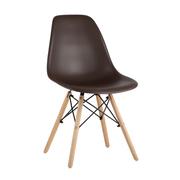 Стул Eames Style DSW коричневый x10