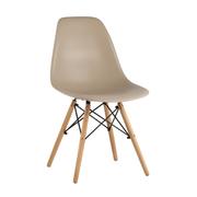 Стул Eames Style DSW бежево-серый