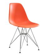 Стул Eames Style DSR оранжевый